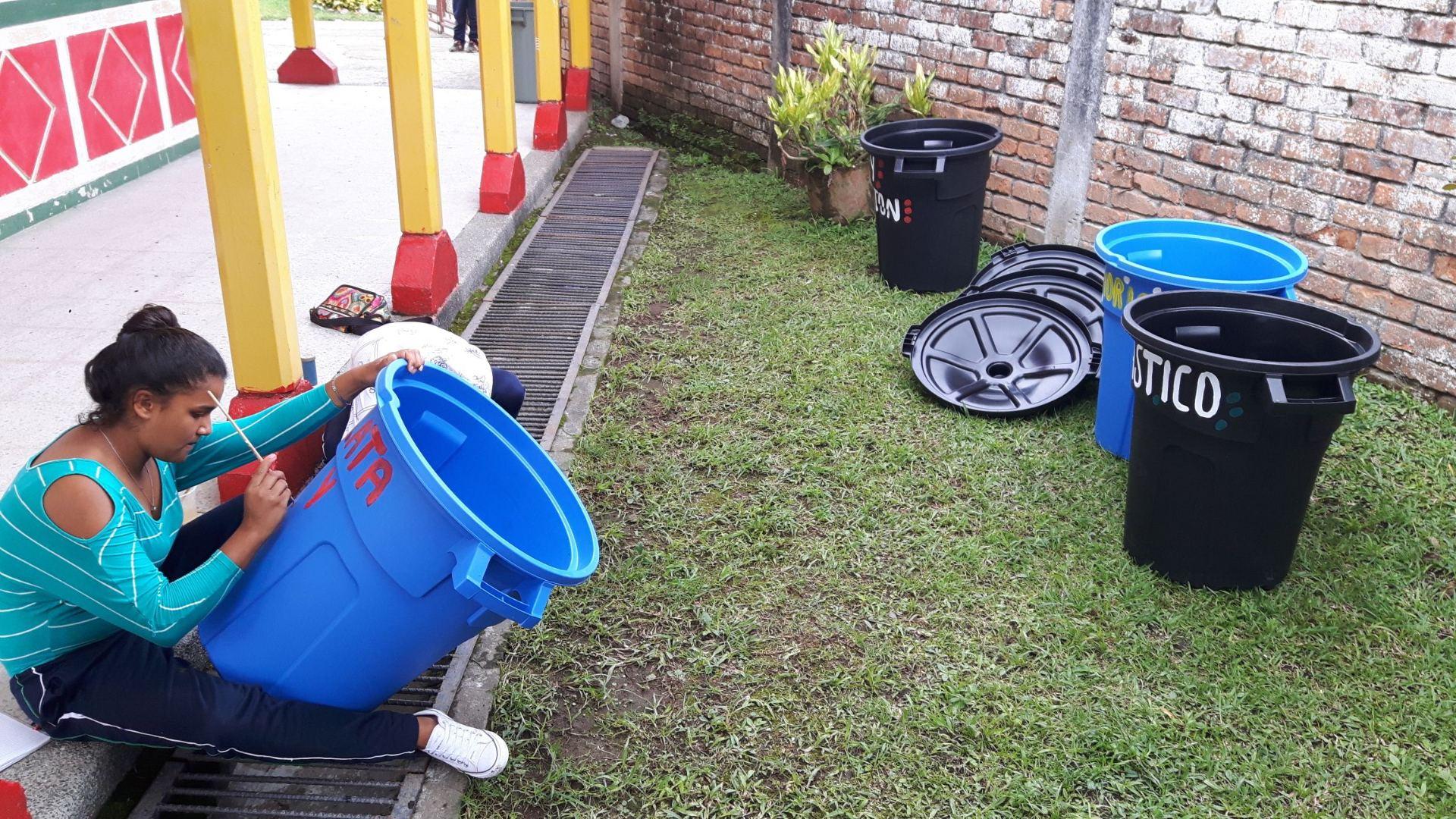 Separación de residuos y compostaje